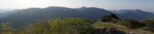 比婆山from吾妻山山頂