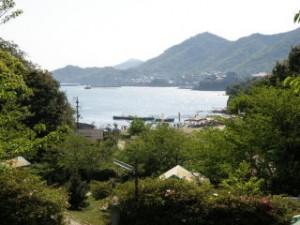 鞆の西方from仙酔島キャンプ場