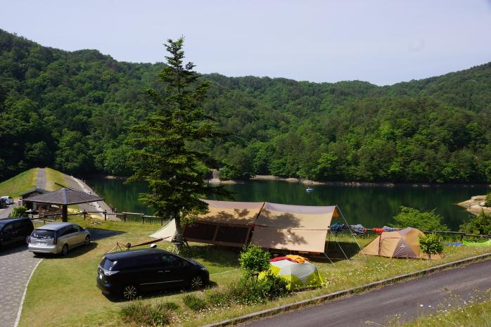 香六ダム公園キャンプ場