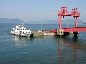 大久野島 第2桟橋