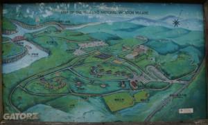 休暇村「帝釈峡」現地案内図