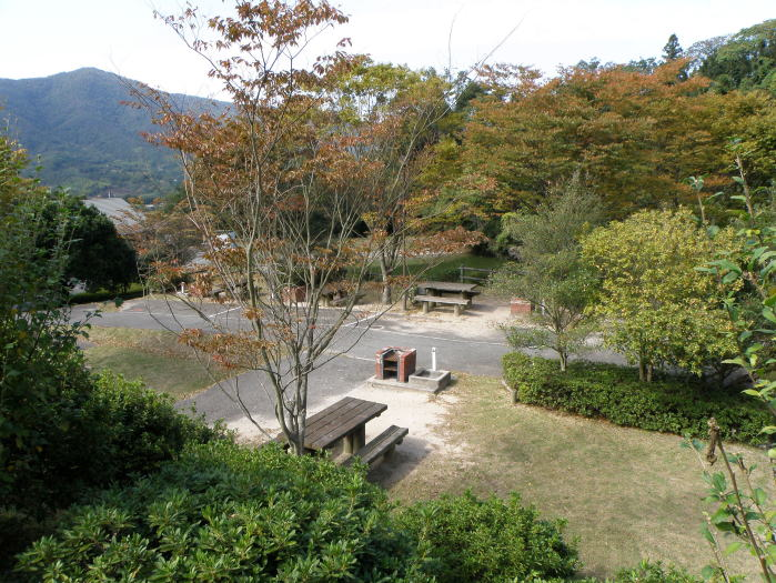 真道山森林公園オートサイト