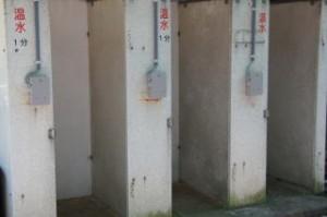今子浦キャンプ場 シャワー
