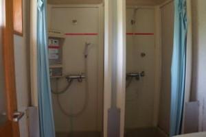 杉の泊ポピーフィールド オートサイト サニタリー棟 シャワー