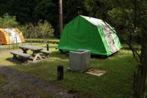 龍頭峡交流の森キャンプ場