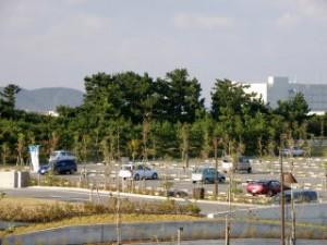 月見ヶ丘海浜公園 駐車場