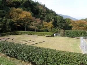 真道山森林公園 ファイヤーサークル