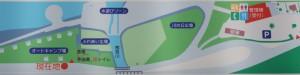 江の川カヌー公園さくぎ オートサイト現地案内図