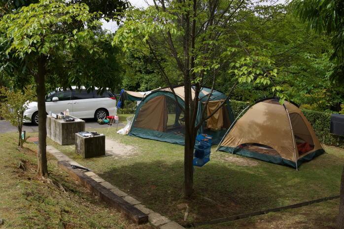 憩いの森公園オートキャンプ場