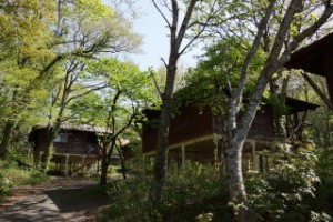 吾妻山ロッジキャンプ場 コテージ