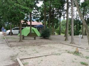 健康ふれあいの里キャンプ場