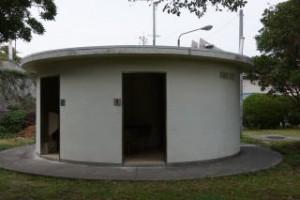 陸奥キャンプ場 トイレ棟