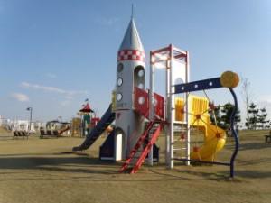 月見ヶ丘海浜公園 幼児遊具広場
