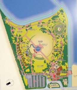 月見ヶ丘海浜公園 現地案内板