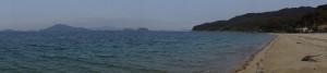 瀬戸内海パノラマfrom逗子ヶ浜