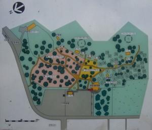 神鍋高原キャンプ場現地図