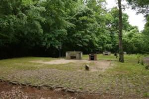 休暇村「帝釈峡」くぬぎの森オートキャンプ場 オートサイト