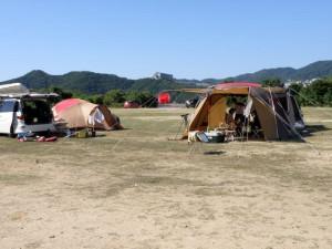 淡路じゃのひれオートキャンプ場 フリーサイト