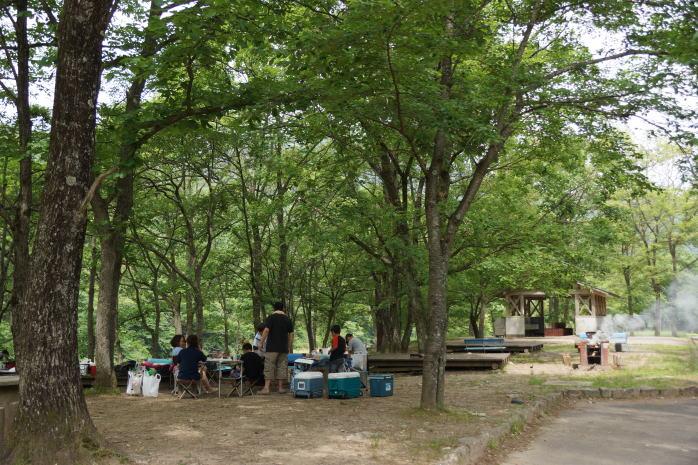 土師ダムファミリーキャンプ場