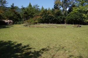 石ヶ堂古代村キャンプ広場