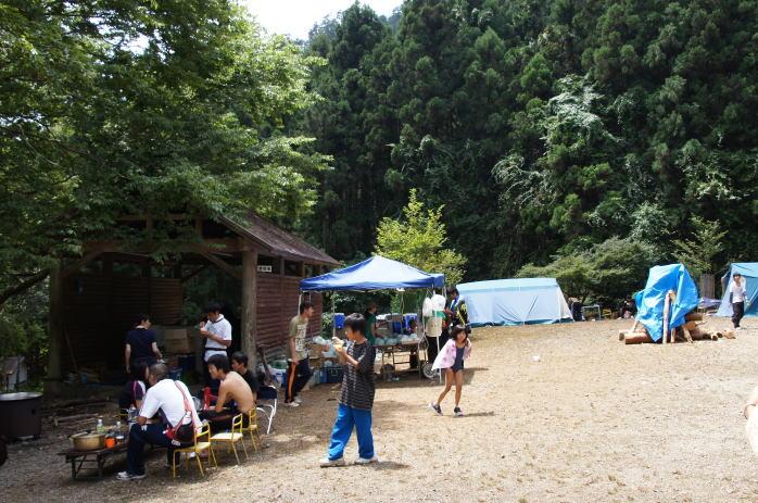 雪彦山キャンプ場