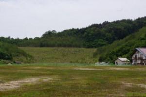 杉の泊ポピーフィールド パラグライダーフライトエリア
