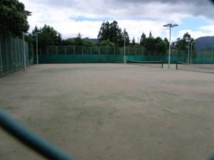 健康ふれあいの里キャンプ場 テニスコート