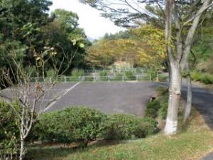 真道山森林公園 駐車場
