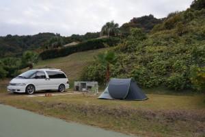 片添ヶ浜公園オートキャンプ場 オートサイト