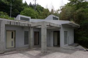 土師ダムファミリーキャンプ場 トイレ