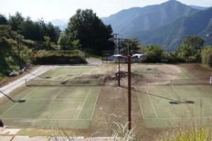 さのう高原 テニスコート