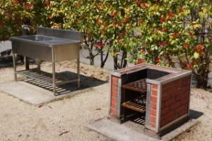 矢野温泉公園 オートサイト 炊事施設