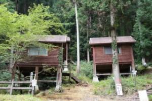 雪彦山キャンプ場 バンガロー