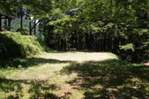 天滝公園キャンプ場 テントサイト