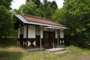 杉の泊ポピーフィールド オートサイト トイレ棟