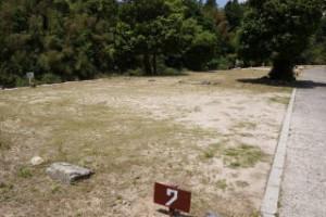 弥栄オートキャンプ場 オートサイト