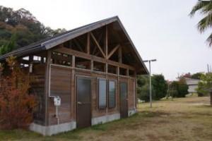 陸奥キャンプ場 シャワー棟