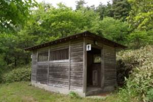 琵琶ヶ池「いこいの森」キャンプ場 トイレ棟