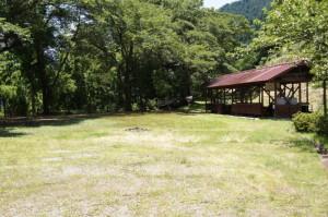 天滝公園 フリーサイト・BBQ小屋