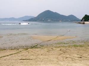 高根島fromサンセットビーチ