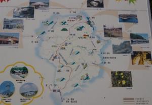 神石高原町 神石地区現地案内図
