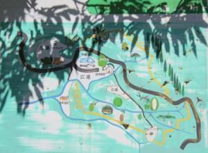 馬場山キャンプ場 現地図