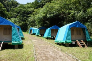 今子浦キャンプ場 常設サイト