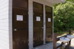弥栄キャンプ場 シャワー室
