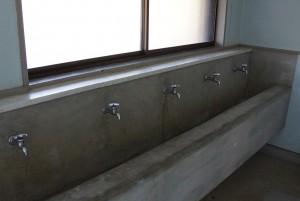 東条健康の森 手洗い場