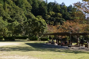 三田市野外活動センター 休憩舎