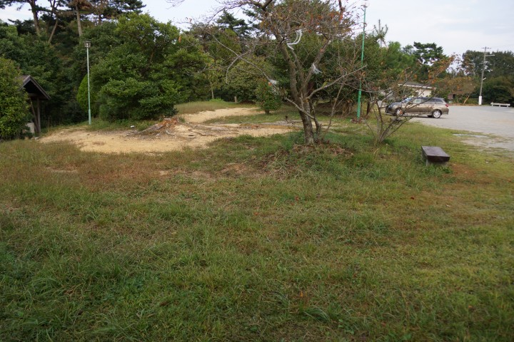 鴨池キャンプ場 テントサイト (5)
