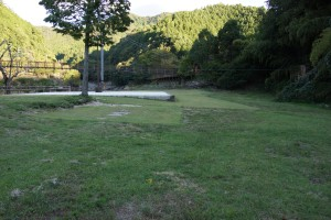 川代公園 テントサイト・バーベキュー場