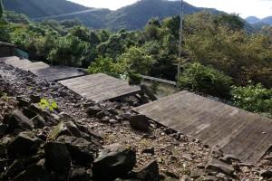 高鉢山キャンプ場 テントサイト
