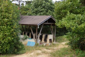 鴨池キャンプ場 炊事棟